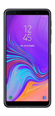 Téléphone Samsung Galaxy A7 2018 Noir