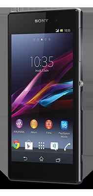 Téléphone Sony Xperia XZ1 Noir Très bon état