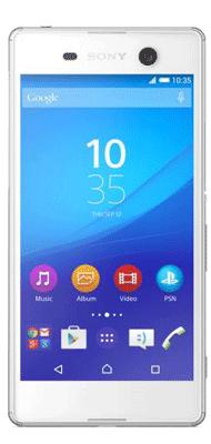 Téléphone Sony Xperia M5 blanc