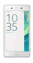 T�l�phone Sony Xperia X blanc
