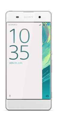 Téléphone Sony Xperia XA Blanc
