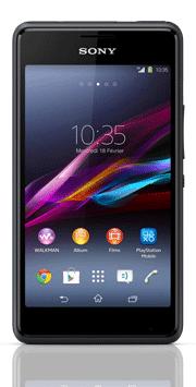 Téléphone Sony Xperia E1 Noir Comme neuf