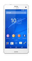 T�l�phone Sony Z3 Compact Blanc Comme neuf