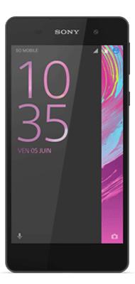 Téléphone Sony Xperia E5 Noir