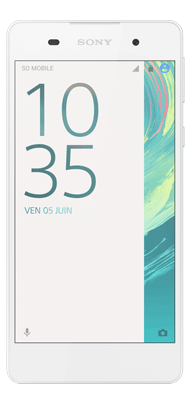 T�l�phone Sony Xperia E5 Blanc