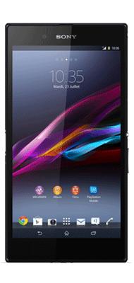 T�l�phone Sony Xperia XA ultra noir
