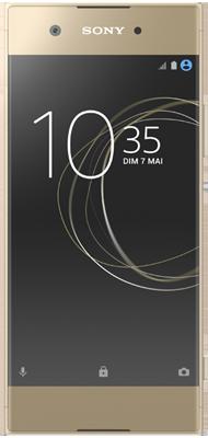 Téléphone Sony Xperia XA1 Jaune Dore Comme Neuf