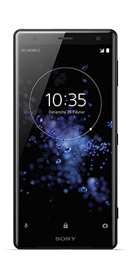 Téléphone Sony XPERIA XZ2 NOIR Comme Neuf