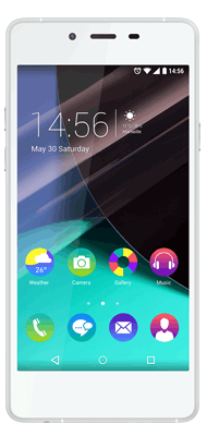 T�l�phone Wiko Highway pure blanc